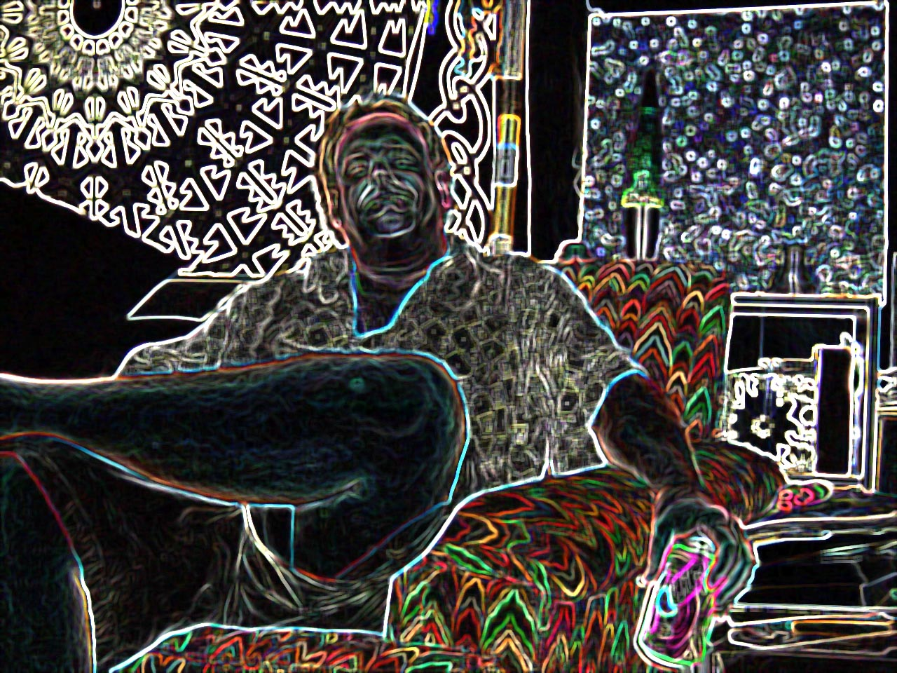 2cbbro.jpg  A psychadelic shot of Brother Matt in